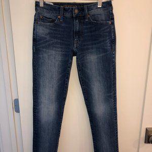 American Eagle Extreme flex 4 slim jeans 26x28 New